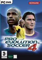 Hra pre PC Pro Evolution Soccer 4