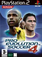 Hra pre Playstation 2 Pro Evolution Soccer 4