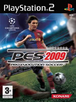 Hra pre Playstation 2 Pro Evolution Soccer 2009