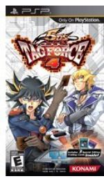 Hra pre PSP Yu-Gi-Oh! Tag Force 4