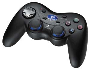 gamepad PS2 Logitech Cordless Action Controller