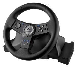 volant Logitech Rally Vibration Feedback Wheel