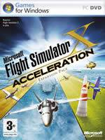 Hra pre PC Flight Simulator X: Acceleration (datadisk)