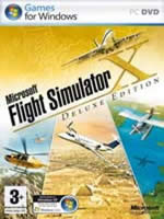 Hra pre PC Flight Simulator X (deluxe) (ENG manuál)