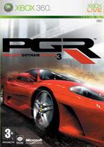 Hra pre Xbox 360 Project Gotham Racing 3 (samostatné DVD)