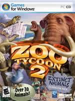 Hra pre PC Zoo Tycoon 2: Extinct Animals EN