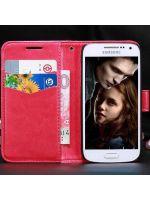 pouzdro (Samsung Galaxy S4 mini) - červené