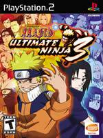 Hra pre Playstation 2 Naruto: Ultimate Ninja 3
