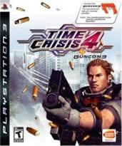 Hra pre Playstation 3 Time Crisis 4 + Pištoľ
