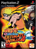Hra pre Playstation 2 Naruto: Ultimate Ninja 4 - Naruto Shippuden
