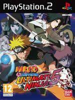 Hra pre Playstation 2 Naruto: Ultimate Ninja 5 - Naruto Shippuden