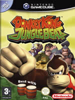 Hra pre GameCube Donkey Kong Jungle Beat s Bongo ovládačom