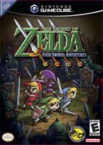 Hra pre GameCube The Legend Of Zelda: Four Swords