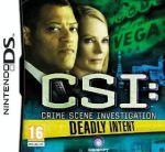 Hra pre Nintendo DS CSI: Deadly Intent - The Hidden Cases