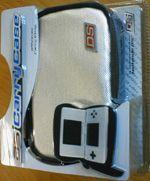 Prislušenstvo pre Nintendo DS Luxusné strieborné puzdro na Nintendo DS