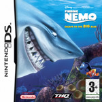 Hra pre Nintendo DS Finding Nemo: Escape to The Big Blue
