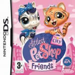Hra pre Nintendo DS Littlest Pet Shop Friends: City