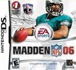 Hra pre Nintendo DS Madden NFL 06
