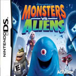 Hra pre Nintendo DS Monsters vs. Aliens