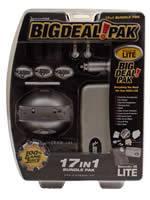 Prislušenstvo pre Nintendo DS NDS Lite Big Deal Pak 17in1 (strieborná)