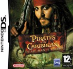 Hra pre Nintendo DS Pirates of the Caribbean Dead Mans Chest