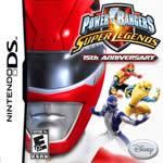Hra pre Nintendo DS Power Rangers: Super Legends