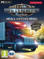 American Truck Simulator CZ (PC) + Nálepka s logom hry