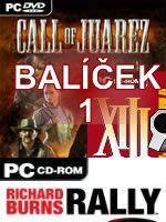 Hra pre PC Balíček PC hier 1 (preteky a akčné hry)