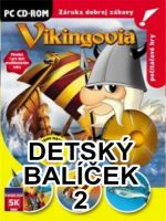 Balíček detských PC hier 2 (Vikingovia, Starosti p. Konštruktéra, Cirkus) (PC)
