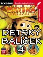 Hra pre PC Balíček detských PC hier 4 (Mayská Civilizácia, V Lunaparku, Starosti pána Konštruktéra)