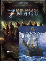 Hra pre PC Brány Skeldalu: 7 mágů + kniha Brány Skeldalu I.: Legenda o Rovenu