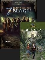 Hra pre PC Brány Skeldalu: 7 mágů + kniha Brány Skeldalu II.: Bílá Věž