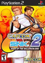 Hra pre Playstation 2 Capcom vs Snk 2