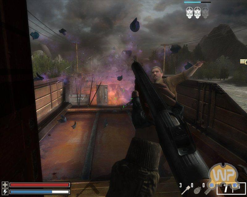 Компьютерная игра 'Восточный Фронт. . Крах Анненербе'. . Скринш