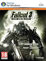 Hra pre PC Fallout 3: Add on Pack Two CZ (Broken Steel + Point Lookout)