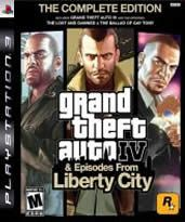 Hra pre Playstation 3 GTA IV: The Complete Edition (GTA IV + GTA: EFLC)