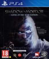 hra pro Playstation 4 Middle-earth: Shadow of Mordor (GOTY)
