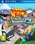 Hra pre PS Vita Phineas and Ferb: Day of Doofenshmirtz