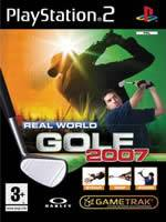 Hra pre Playstation 2 Real World Golf 2007 (s palicou)