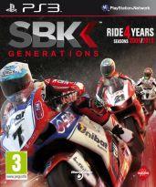 Hra pre Playstation 3 SBK Generations