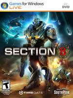 Hra pre PC Section 8 (ENG manuál)