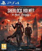 hra pre Playstation 4 Sherlock Holmes: The Devils Daughter