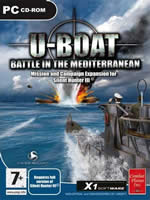 Hra pre PC Silent Hunter 3: U-Boat Battle in the Mediterranean - datadisk