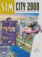 Hra pre PC Sim City 2000