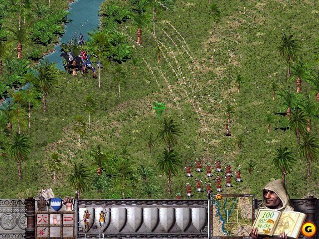 Скриншоты Stronghold Crusader.