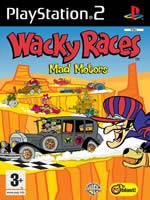 Hra pre Playstation 2 Wacky Races: Mad Motors