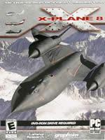 Hra pre PC X-Plane 8 DVD