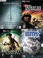 Hra pre PC B14: SW Jedi Knight Jedi Academy + Conflict Desert Storm II + Beyond Good & Evil + CM4