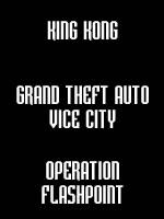 Hra pre PC B9: King Kong + GTA Vice City + Operation Flashpoint plat.