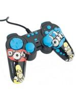 Príslušenstvo pre Playstation 2 gamepad Homer Simpson